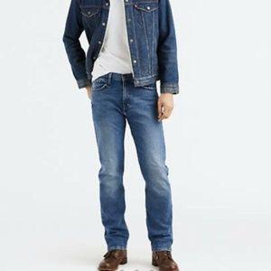 Levis Mens 505 32x34 Regular Fit Jeans NWT Lightwe
